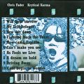 Chris Fader - Krytical Karma - Back