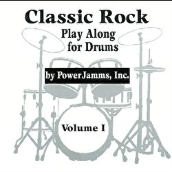 PowerJamms - Play Along Drums - Classic Rock